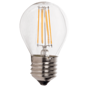 BRIGHT STAR - CLEAR FILAMENT GOLF BALL LED BULB 4W 2700K (BULB LED 154)