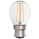 BRIGHT STAR - CLEAR FILAMENT GOLF BALL LED BULB 2700K