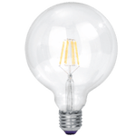 BRIGHT STAR - CLEAR FILAMENT LED BULB 4000K