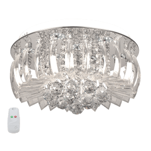 Load image into Gallery viewer, CF011/9 CHROME Ceiling Fitting LED Crystal - Mi Lighting