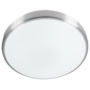 BRIGHT STAR - ALUMINIUM CEILING FITTING STARLIGHT COVER 320mm 24W 6000K (CF055 ALUMINIUM)
