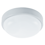 BRIGHT STAR - WHITE POLY CEILING FITTING 15W 4000K (CF124 WHITE)