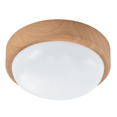 Load image into Gallery viewer, CF128 LIGHT WOOD Poly Ceiling Fitting - Mi Lighting