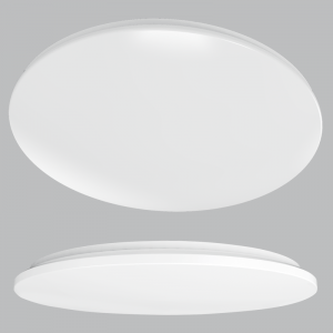CF251 COOL WHITE Poly Cheese Ceiling Fitting PC Cover - Mi Lighting