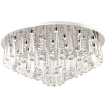 BRIGHT STAR - CHROME CRYSTALS CEILING FITTING 24X2W (CF371 LED)