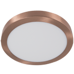 BRIGHT STAR - COPPER POLY COVER CEILING FITTING 18W/24W 4000K (CF549 LED COPPER)