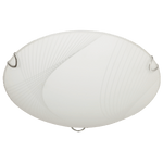 BRIGHT STAR - PATTERNED FROSTED GLASS CEILING FITTING 16W/34W 3500K (CF724)