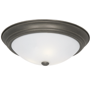 BRIGHT STAR - ANTIQUE FROSTED GLASS CEILING FITTING 2X60W/3X60W (CF8206 ANTIQUE)