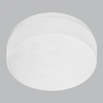 BRIGHT STAR - ALABASTER POLY COVER CEILING FITTING