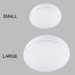 BRIGHT STAR - WHITE ROUND CEILING FITTING