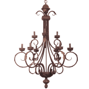 Load image into Gallery viewer, CH1334/9 ANTIQUE BRONZE - Mi Lighting