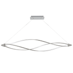BRIGHT STAR - ALUMINIUM POLY LED CHANDELIER