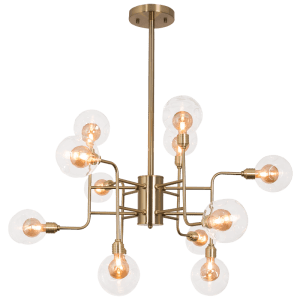Load image into Gallery viewer, CH260/12 BRASS - Mi Lighting