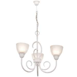 Load image into Gallery viewer, CH3068/3 FRENCH WHITE - Mi Lighting