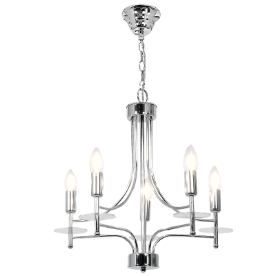 BRIGHT STAR - CHROME CHANDELIER