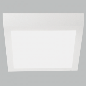 BRIGHT STAR - WHITE ALUMINIUM POLY COVER DOWNLIGHTER