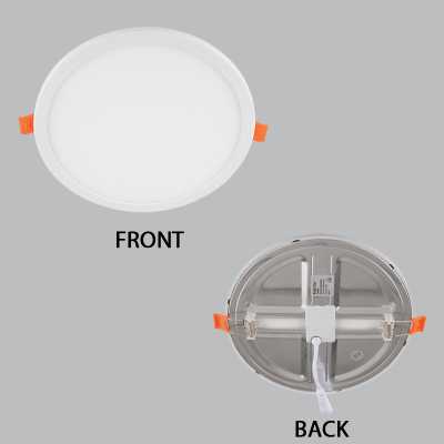 BRIGHT STAR - ALUMINIUM POLY COVER PANEL DOWNLIGHT 8W 4000K (DL553 COOL)