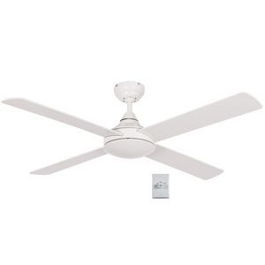 Load image into Gallery viewer, BRIGHT STAR - WHITE 4 BLADE CEILING FAN (FCF037 WHITE)