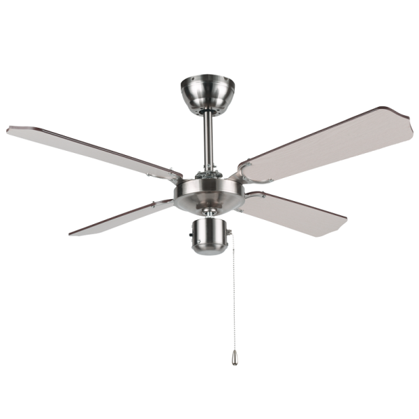 BRIGHT STAR - SATIN 4 BLADE CEILING FAN 54W (FCF042 SATIN)