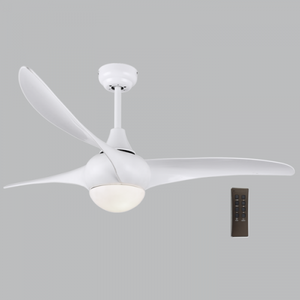 Load image into Gallery viewer, BRIGHT STAR - WHITE 3 BLADE 58W CEILING FAN/LIGHT 18W LED 4000K (FCF050 WHITE)