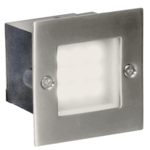 BRIGHT STAR - 304 STAINLESS STEEL TEMPERED GLASS FOOTLIGHT