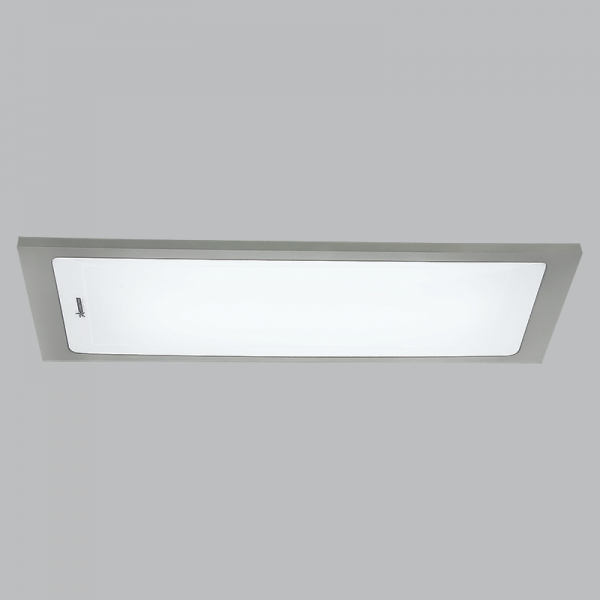 BRIGHT STAR - SILVER POLY FLUORESCENT FITTING 55W (FTL150 SILVER)