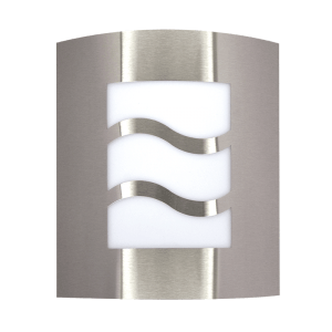 BRIGHT STAR - STAINLESS STEEL WHITE POLY COVER 11W (L037 STAINLESS)