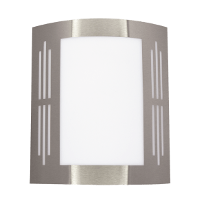 BRIGHT STAR - STAINLESS STEEL WHITE POLY COVER 11W (L038 STAINLESS)