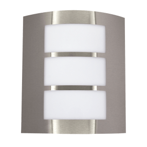 BRIGHT STAR - STAINLESS STEEL WHITE POLY COVER 11W (L039 STAINLESS)