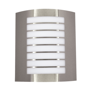 BRIGHT STAR - STAINLESS STEEL WHITE POLY COVER 11W (L040 STAINLESS)