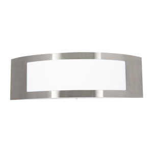 BRIGHT STAR - STAINLESS STEEL WHITE POLY COVER 11W (L046 STAINLESS)