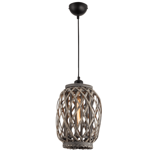 BRIGHT STAR - IRON RATTAN PENDANT 60W (PEN641 RATTAN)