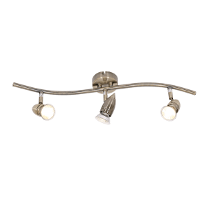 BRIGHT STAR - ANTIQUE BRONZE 3 LIGHT SPOTLIGHT 3X50W (S043/3 ANTIQUE)