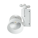 BRIGHT STAR - WHITE ALUMINIUM POLY TRACKLIGHT 30W 4000K (S103/30W LED)