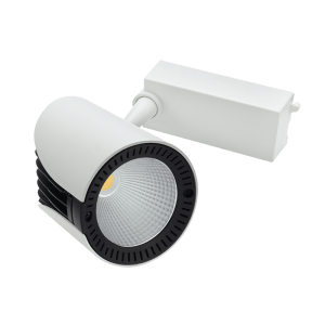 BRIGHT STAR - WHITE ALUMINIUM POLY TRACKLIGHT 30W 4000K (S105/30W LED)