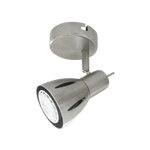 BRIGHT STAR - SATIN CHROME SINGLE SPOTLIGHT 50W (S157/1 SATIN)