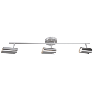 BRIGHT STAR - SATIN CHROME 3 LIGHT SPOTLIGHT 3X50W (S163/3 SATIN)