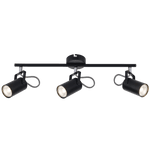 BRIGHT STAR - BLACK CHROME TRIPLE SPOTLIGHT