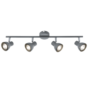 BRIGHT STAR - GREY CHROME QUADRUPLE SPOTLIGHT