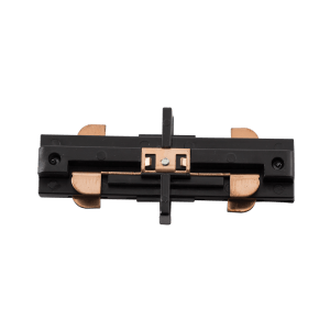 BRIGHT STAR - BLACK TYPE I STRAIGHT CONNECTOR TRACK LIGHTING (S553 BLACK TYPE I)