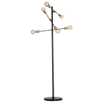 BRIGHT STAR - BLACK FLOOR LAMP