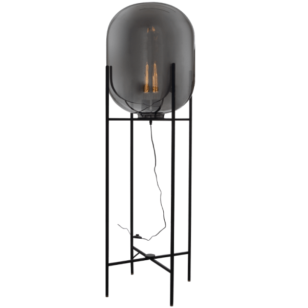 BRIGHT STAR - SMOKE FLOOR LAMP