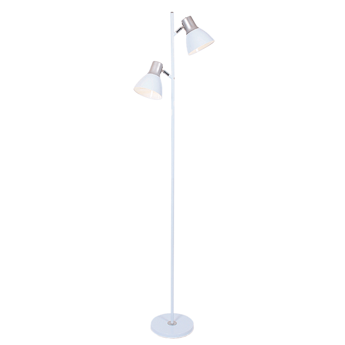 BRIGHT STAR - BLACK/WHITE MOTHER SON FLOOR LAMP