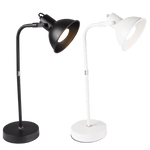 BRIGHT STAR - BLACK/WHITE DESK LAMP ROTATABLE HEAD