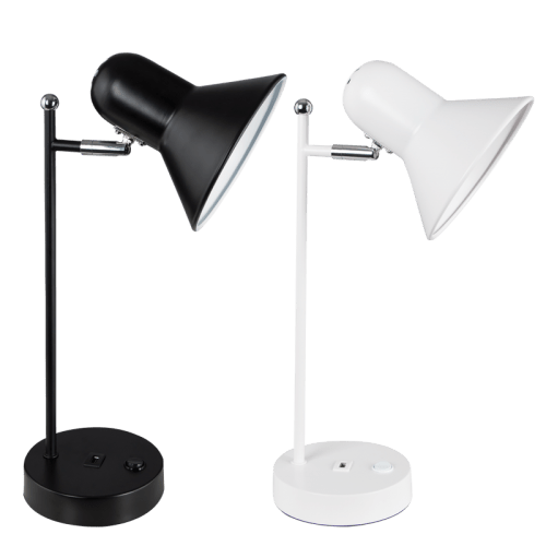 BRIGHT STAR - BLACK/WHITE DESK LAMP