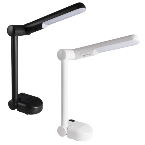 BRIGHT STAR - BLACK/WHITE PVC DESK LAMP