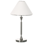 BRIGHT STAR - SATIN CHROME TABLE LAMP