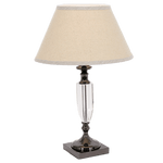 BRIGHT STAR - CHROME CRYSTAL TABLE LAMP