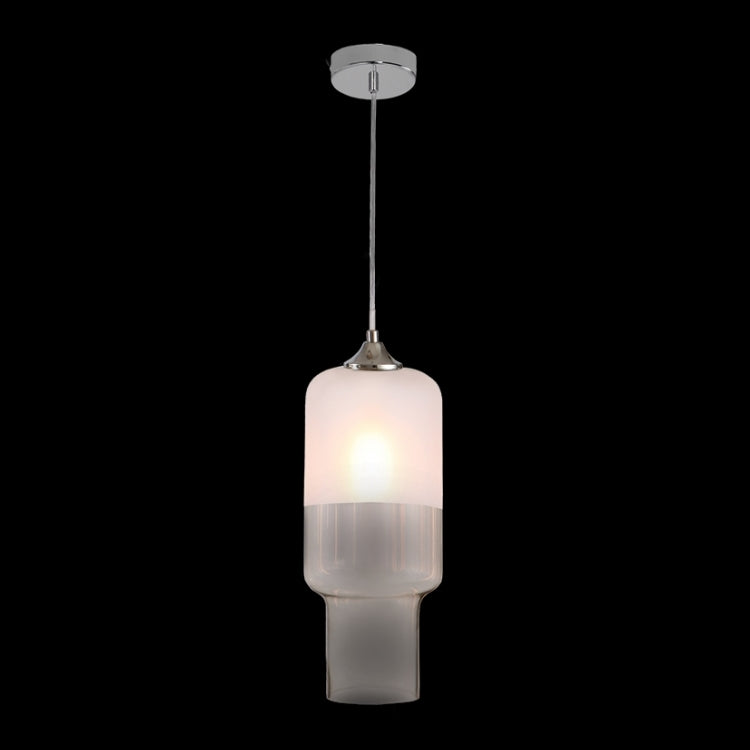 K. LIGHT - AMBER/CLEAR/FROSTED/SMOKE CYLINDER GLASS PENDANT 60W (CA-KLCH-004)