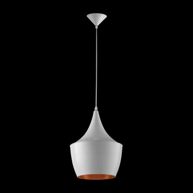K. LIGHT - BLACK/NICKEL/WHITE CROWN METAL PENDANT 60W (CA-KLCH-1004)